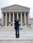 Laura at the United States Supreme Court