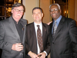 Edward Clark, Mark Fleischman and Edgar Romney