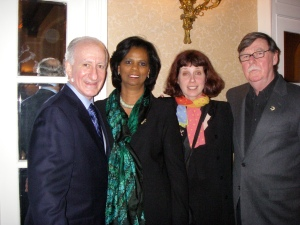 Bruce Raynor, Joan Raynor, me, Edward Clark