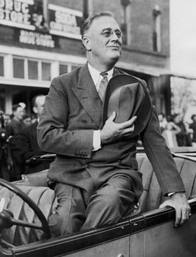 FDR was one of my grandfather's heroes, as he is to me.