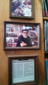 Ralph Secord, original owner and proprietor of Green Mtn Books.