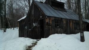 LaBounty's Sugar Shack, on Pond Hill Rd.