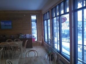 Inside Seating Area at Polish Princess Bakery