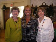L to R:  Rose Fitzgerald, Barbara Peaslee Smith, Teri Anderson, 2009.